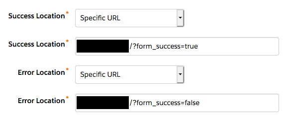 Pardot Form Redirects